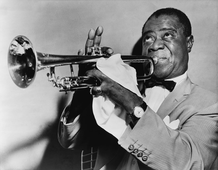 Louis Armstrong   New Orleans Jazz Musician