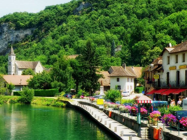 Chanaz-Village-Southeastern-France