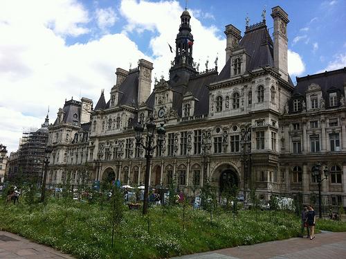 The beautiful Hôtel de Ville