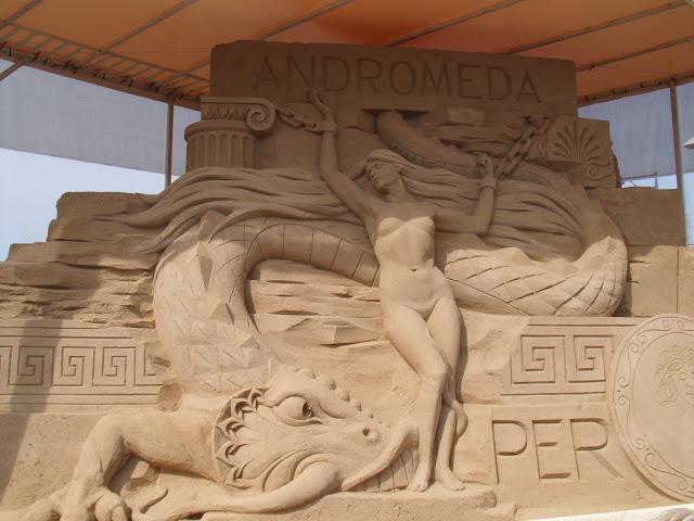 Warnemünde sand sculptures