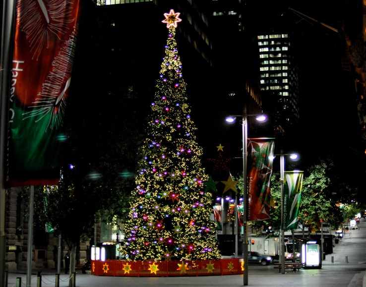 Christmas in Central Sydney