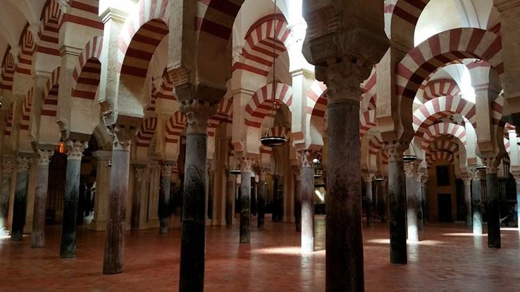 Prayer Hall of La Mezquita   Cordoba