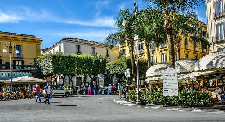 Cafes in Tasso Square | Sorrento