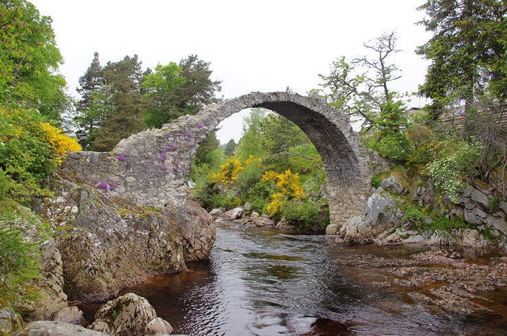 Packhorse Bridge, Carrbridge near Aviemore