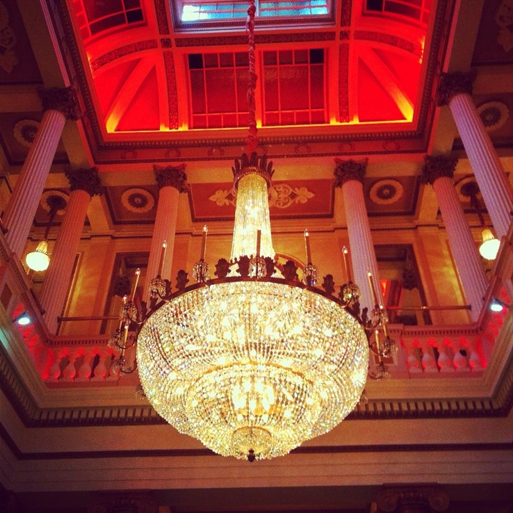 The Dome, a beautiful setting for afternoon tea