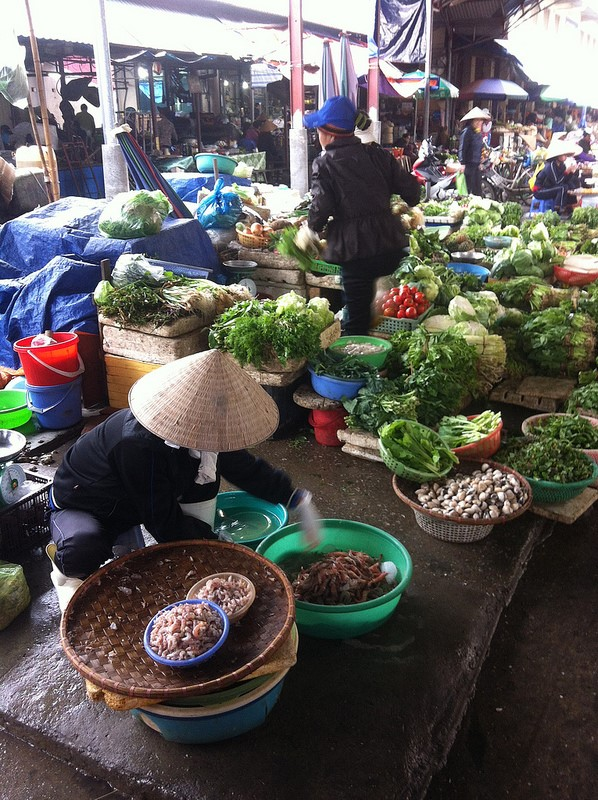 Vietnamese Food Markets