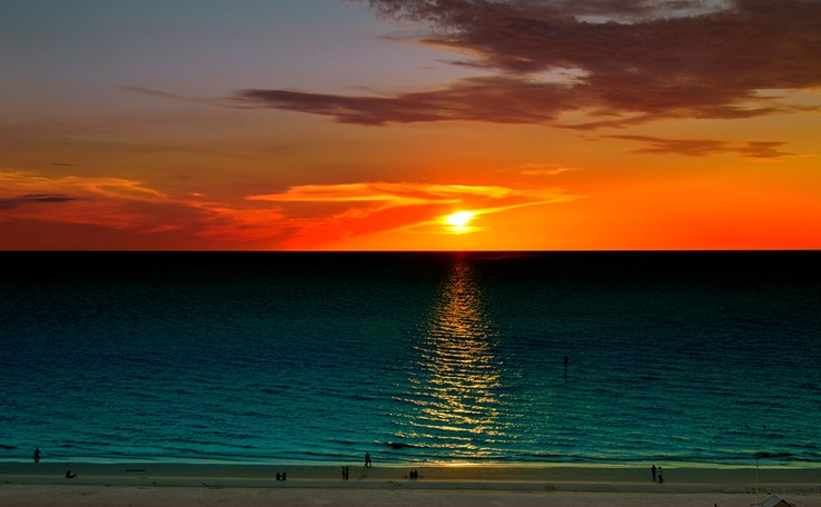 Sunset Over Clearwater Beach | Florida