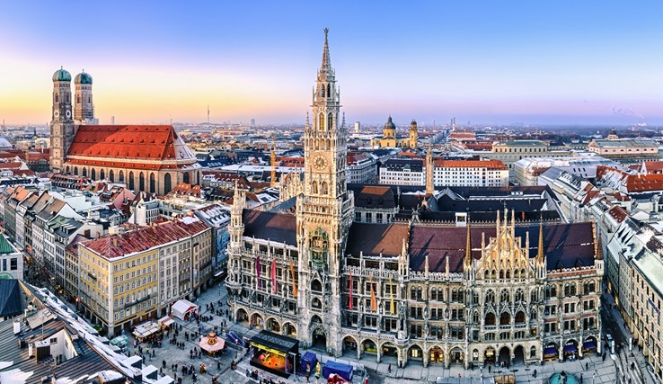 Munich City in Winter