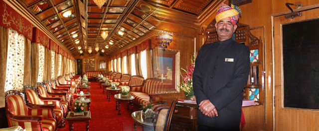 Enjoy a Royal Welcome aboard India's Palace on Wheels