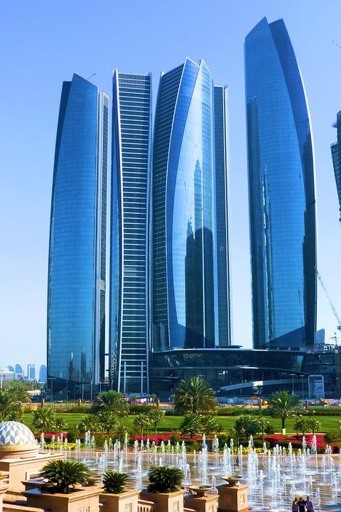 Etihad Towers, Abu Dhabi.