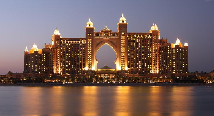 The Palm Atlantis Hotel, Dubai.