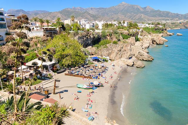Nerja Coastline - Costa Del Sol, Spain