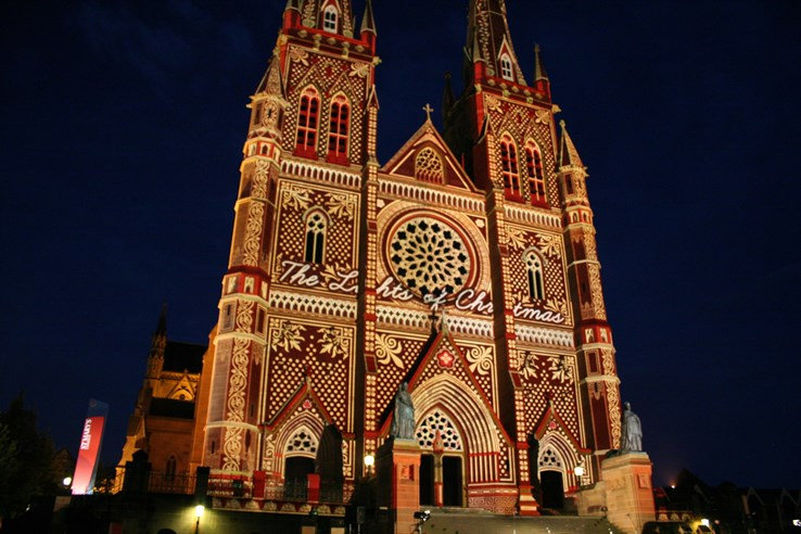 St Mary's Cathedral 'Lights of Christmas'