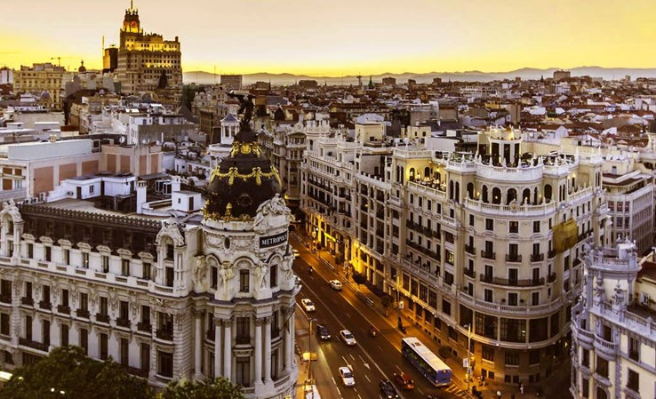 Madrid Cityscape by HEYPER (CC BY 2.0)