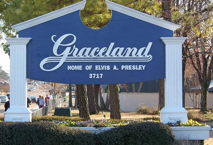 Gracelands Mansion, Memphis.