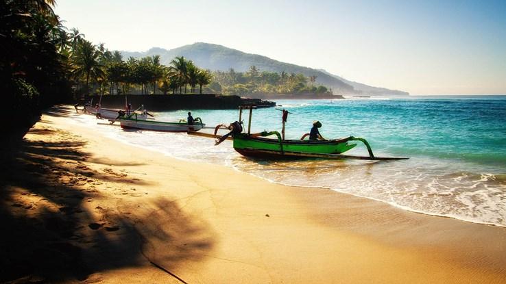 Candidasa Beach, Bali