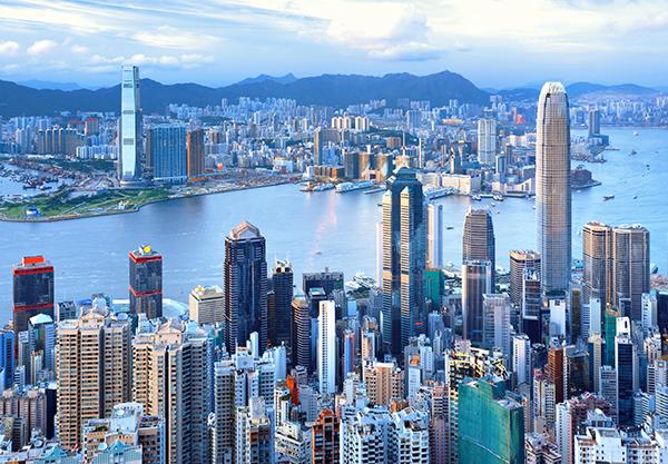 City Skyline - Hong Kong
