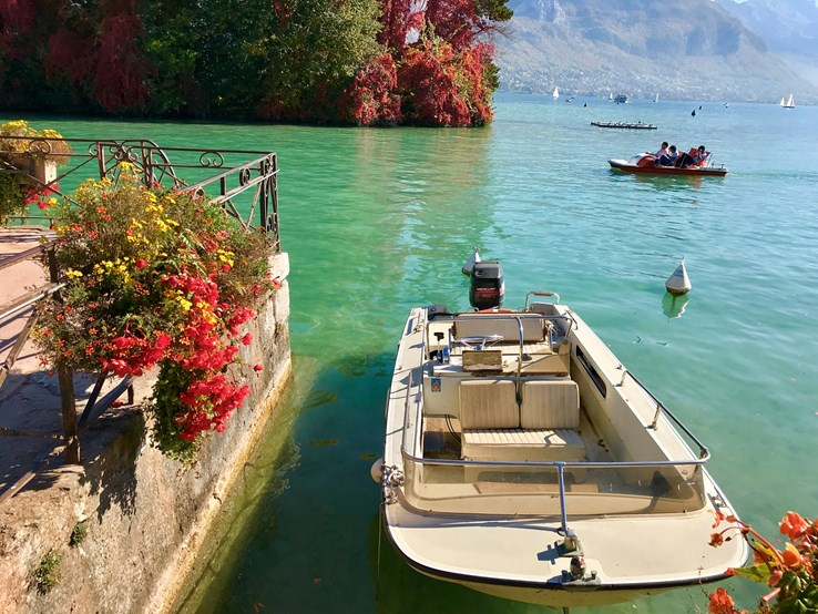 Annecy Boat Trip