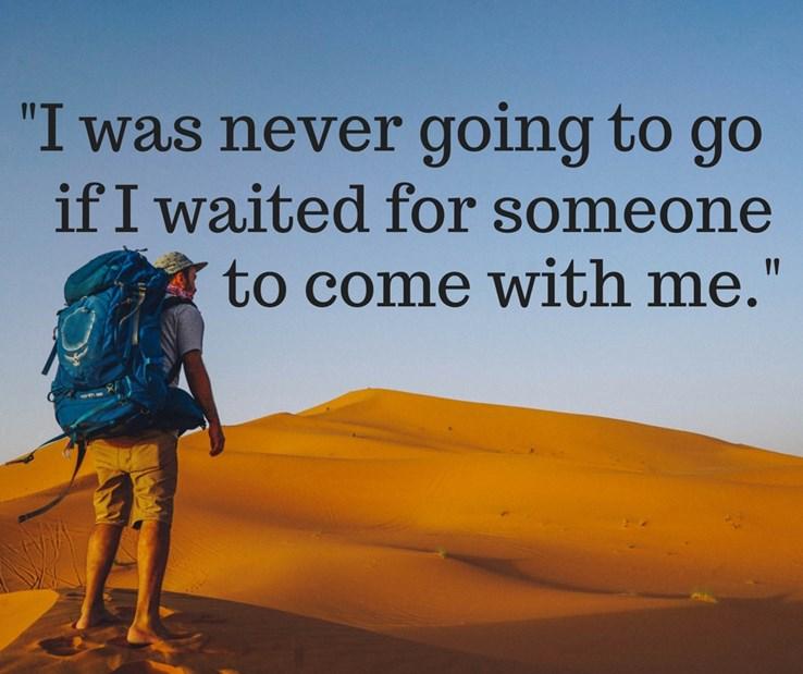 Travel Quote #1