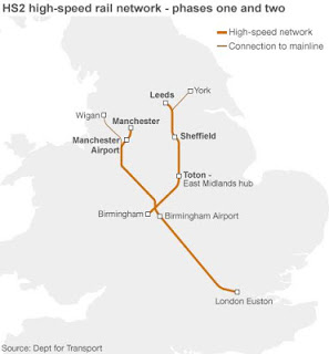 HS2: The proposed route