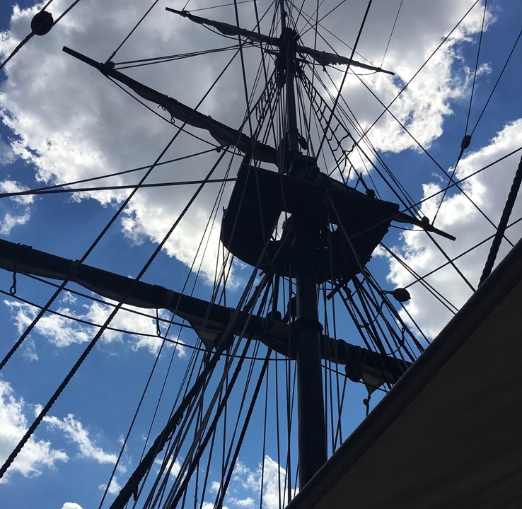 Ship at the Boston Tea Party Museum