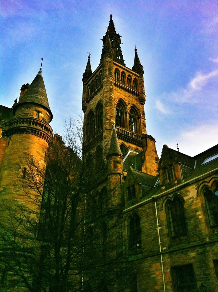 Glasgow University ... or Hogwarts?