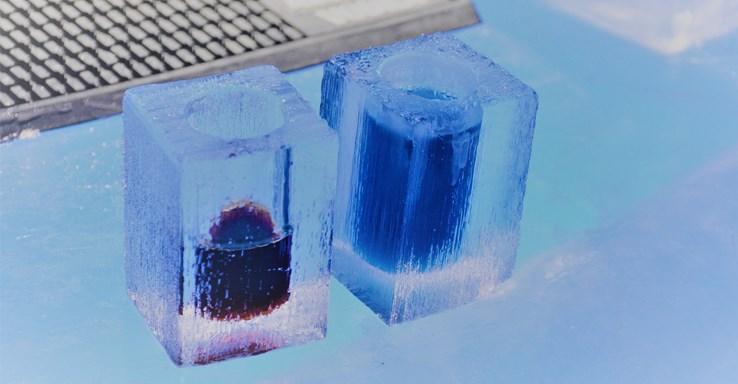 Ice Glasses in Ice Bar