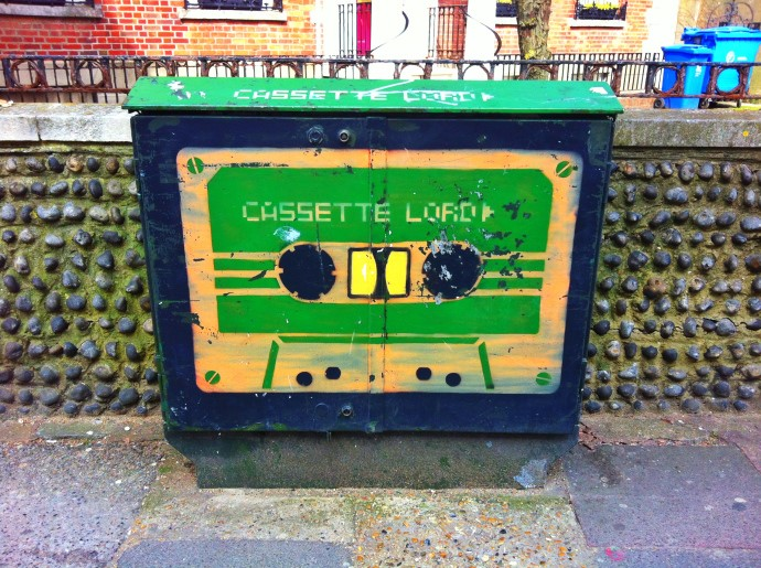 'Cassette Lord' leaving his mark in Brighton