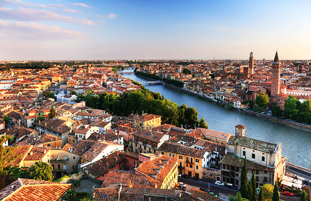 The City Of Verona - Italy