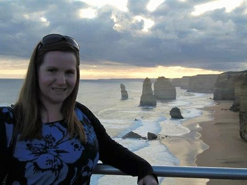 Just me and the Twelve Apostles - Great Ocean Road, Australia