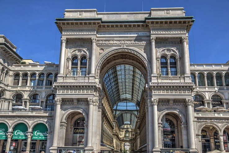 The Galleria Vittorio Emanuele II