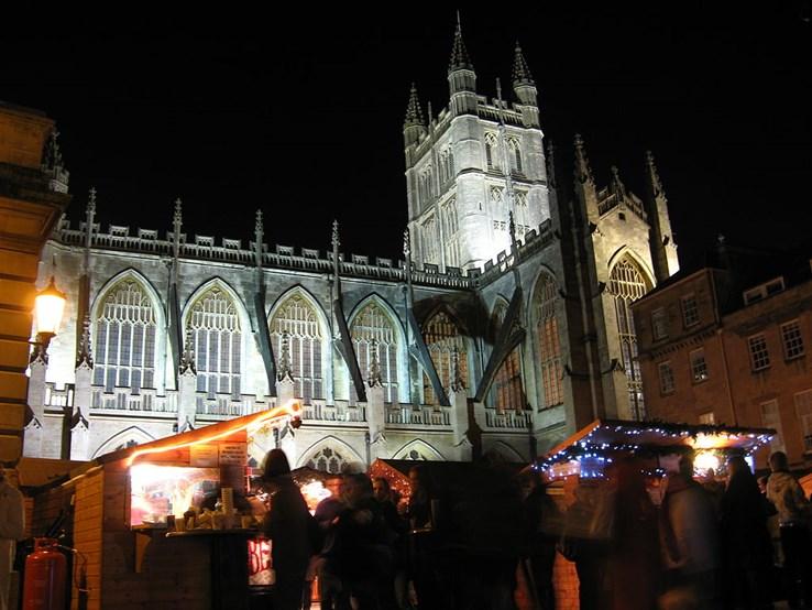 Bath Abbey Christmas Market