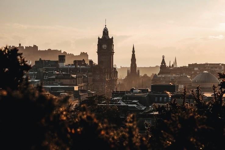 Mist over Edinburgh
