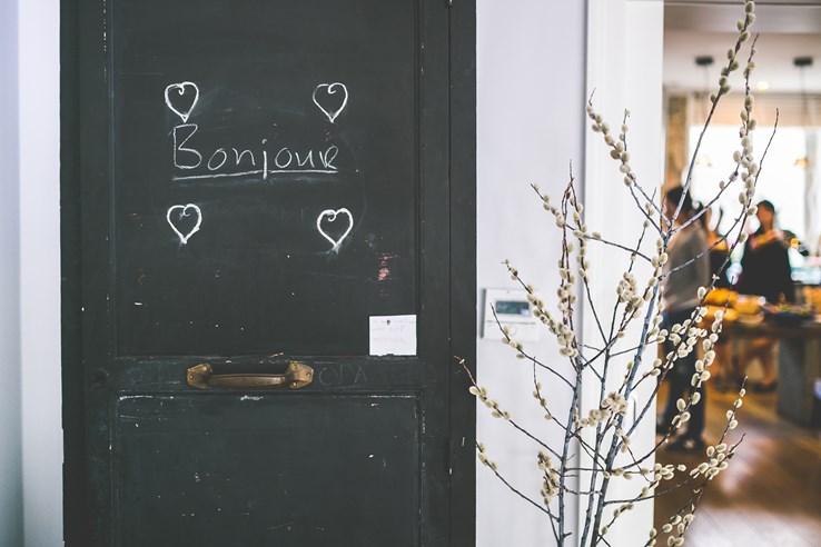 Bonjour | Cafe Door | France