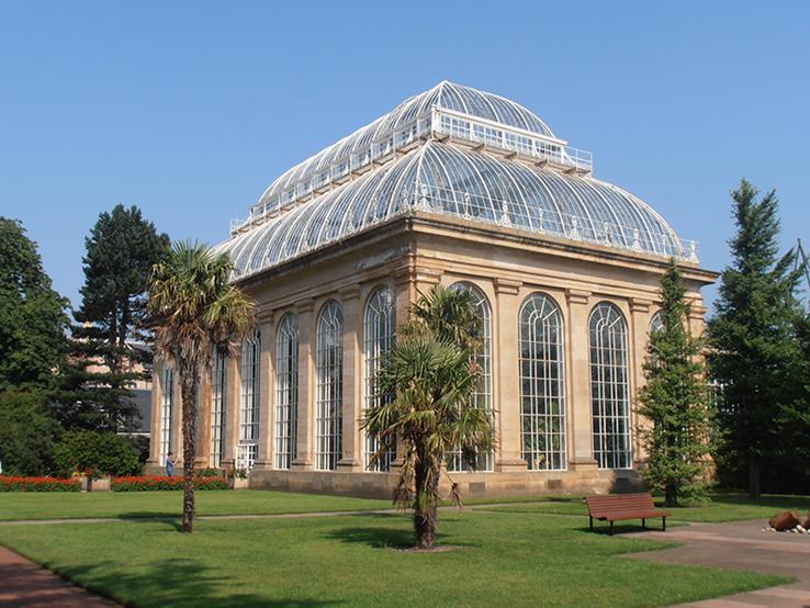 Palm House, Royal Botanic Garden Edinburgh By Ham (Own work) [CC BY-SA 3.0]