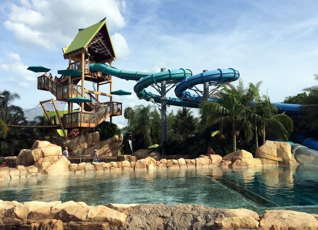 Orlando - Aquatica - Dolphin Plunge - Orlando