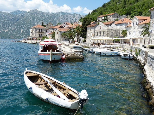 Grandeur of the Seas in Kotor, Montenegro