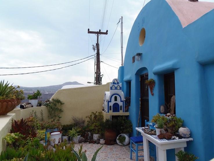 Akrotiri - someone's Front Garden!