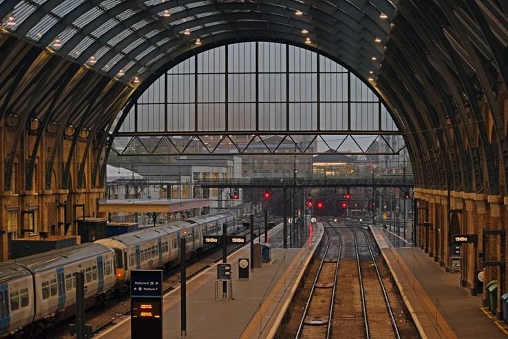 Kings Cross Train Station