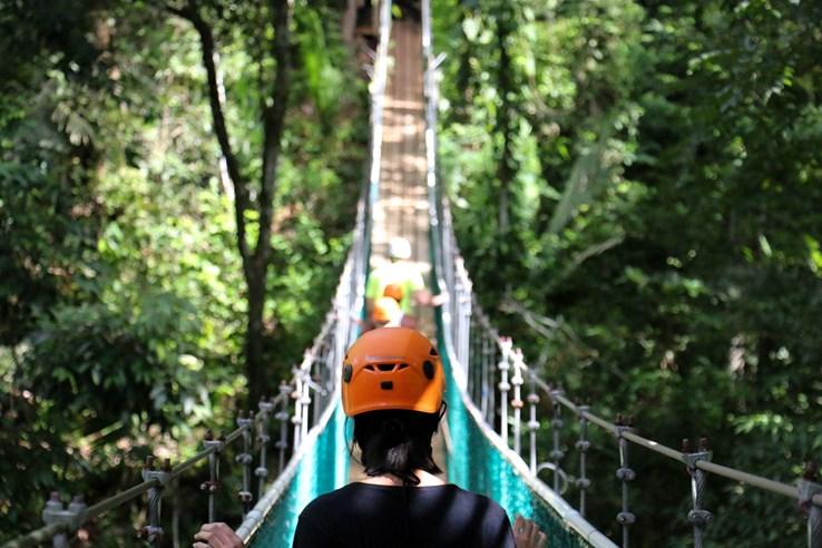 Belize Rope Bridge