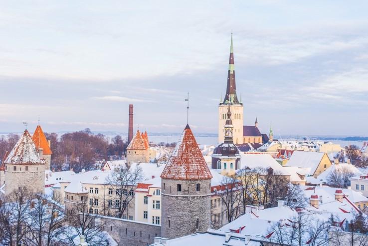 Tallinn City in Winter | Estonia
