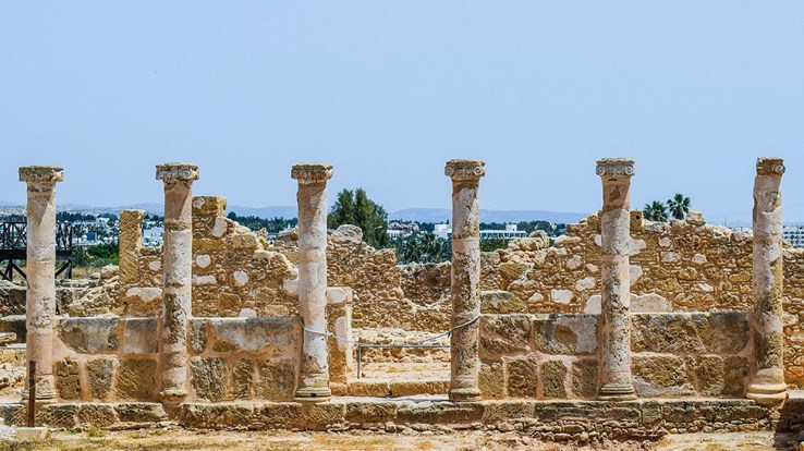 Ancient Ruins in Paphos | Cyprus