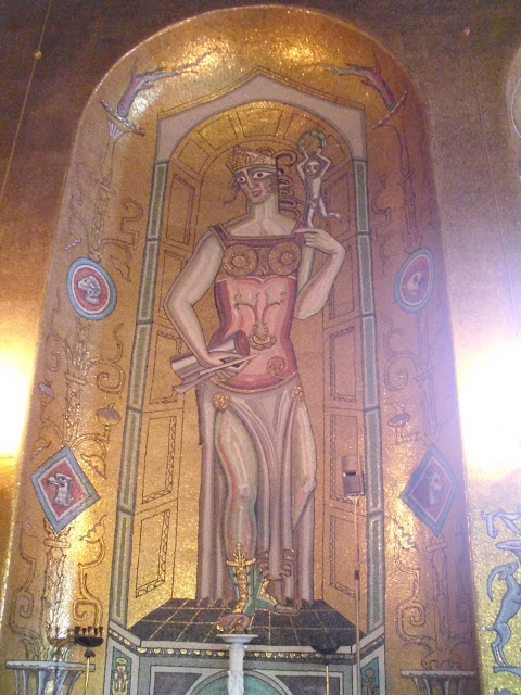The Beautiful Mosaic Interior Of The City Hall