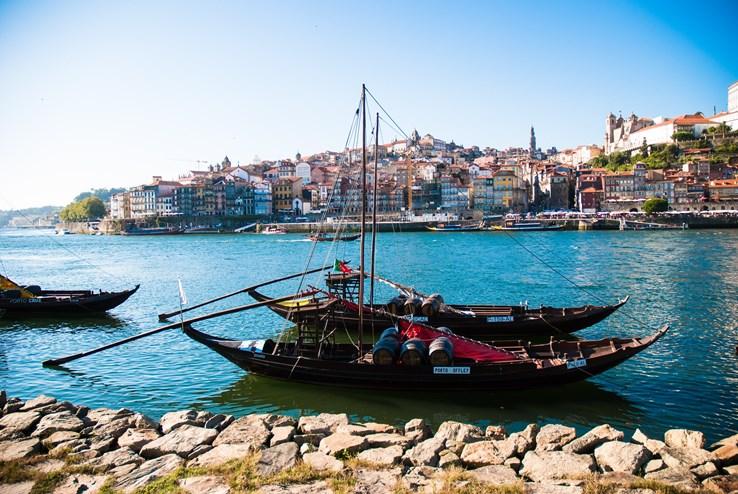Rabelo Wine Boat on River Douro | Porto
