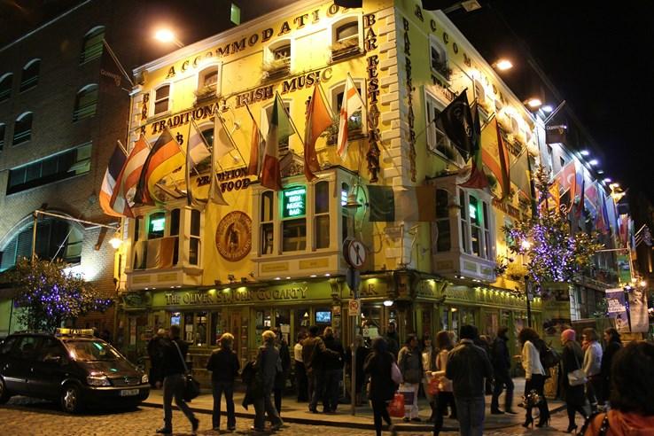 Temple Bar Nightlife, Dublin