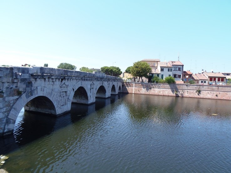 Tiberus Bridge, Rimini