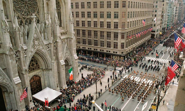 Visit The Big Apple this St Paddy's Day as the city becomes an area on pomp, pageantry and revelry.
