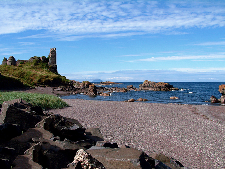 Dunure Castle | Ayrshire Coast