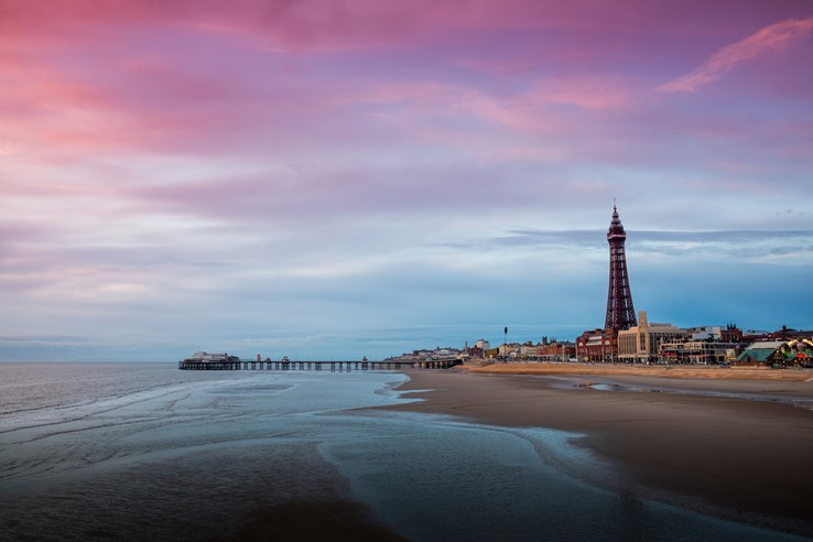 Blackpool Pier & Beach