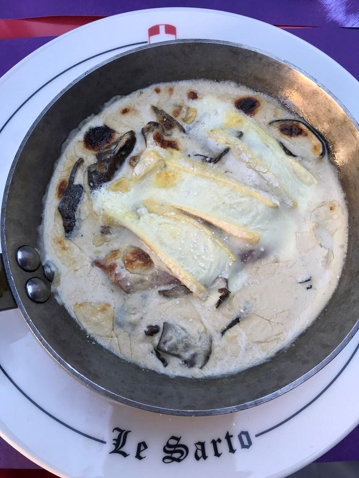 Le Sarto Restaurant, Savoyard cuisine